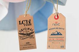 服装吊牌印刷厂曝光吊牌设计多样化秘诀?